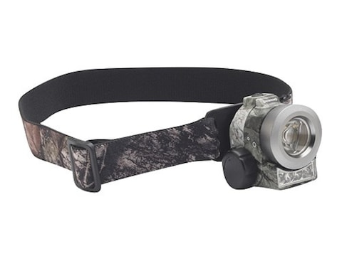 Browning Nitro Headlamp Luxeon LED with 1 CR123A Battery Polymer Mossy Oak Break-Up Camo