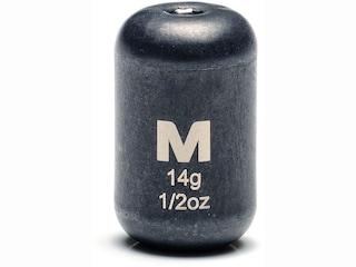 Mustad Carolina Weight 1/2oz Tungsten Black 2Pk