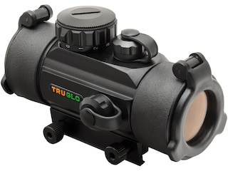 TRUGLO Red Dot Sight 30mm Tube 1x 5 MOA Dot with Integral Weaver-Style Base Matte