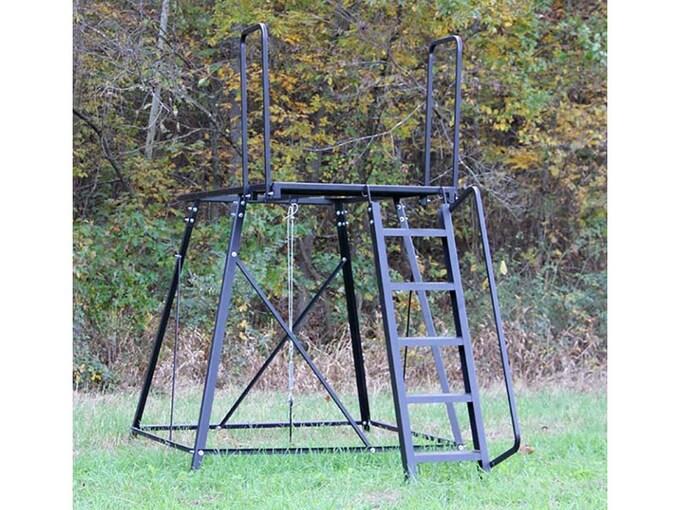 Redneck Blinds 5' Elevated Blind Platform Steel