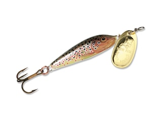 Blue Fox Vibrax Minnow Spin Inline Spinner Brown Trout/Gold