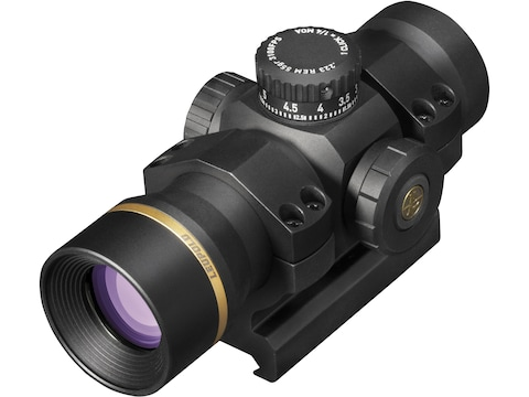 Leupold Freedom RDS Red Dot Sight 34mm Tube 1x 34 1.0 MOA Dot BDC Turret with Mount Matte