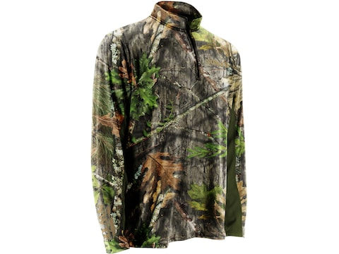 Nomad Men's NWTF 1/4 Zip Cooling Long Sleeve T-Shirt Polyester