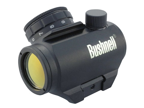Bushnell Trophy TRS-25 Red Dot Sight 1x 20mm 3 MOA Dot with Integral Weaver-Style Mount