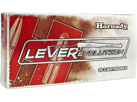 Hornady LEVERevolution Ammunition 7-30 Waters 120 Grain FTX Box of 20