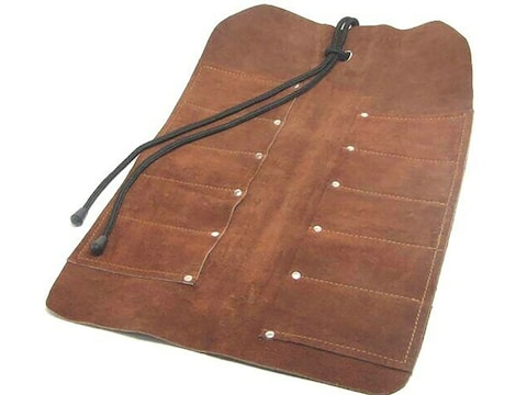 Ramelson Tool Roll 10-Pocket Leather