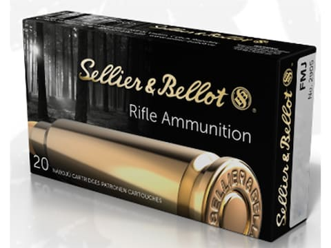 Sellier & Bellot Ammunition 7.62x51mm NATO 147 Grain Full Metal Jacket