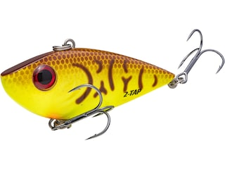 Strike King 1/2oz Red Eyed Shad Tungsten 2 Tap Lipless Crankbait Chartreuse Belly Craw
