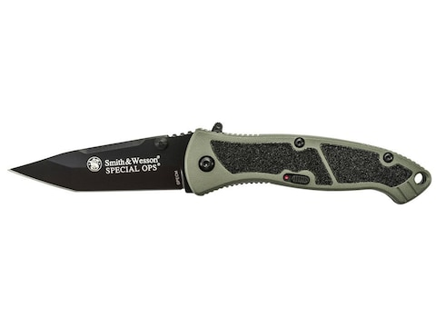 """Smith & Wesson Medium Special Ops M.A.G.I.C Assisted Opening Folding Pocket Knife 3.1"""" ..."""
