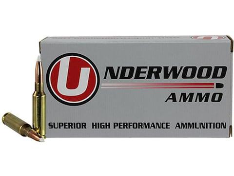 Underwood Ammunition 6.5 Creedmoor 140 Grain Nosler AccuBond Box of 20