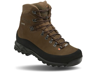 """Crispi Nevada GTX 8"""" GORE-TEX Hunting Boots Leather Brown Men's 8.5 D"""