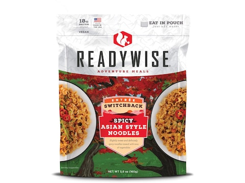 ReadyWise Switchback Spicy Asian Style Noodles Freeze Dried Food