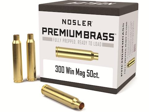 Nosler Custom Brass 300 Winchester Magnum Box of 50