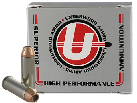 Underwood Ammunition 45 Colt (Long Colt) +P 300 Grain Hornady XTP Jacketed Hollow Point...
