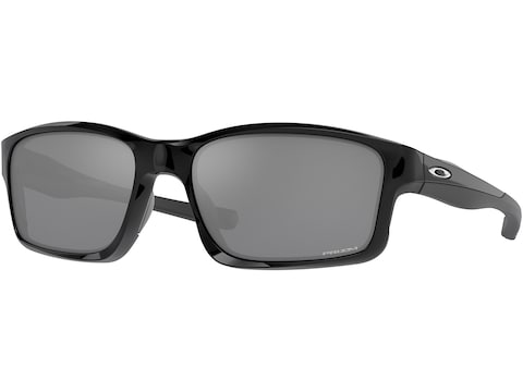 Oakley Chainlink Sunglasses Polished Black Frame/Black Iridium Lens
