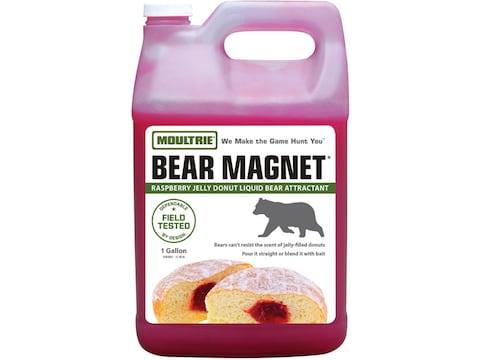 Moultrie Bear Magnet Raspberry Jelly Donut Bear Attractant Liquid 1 Gallon