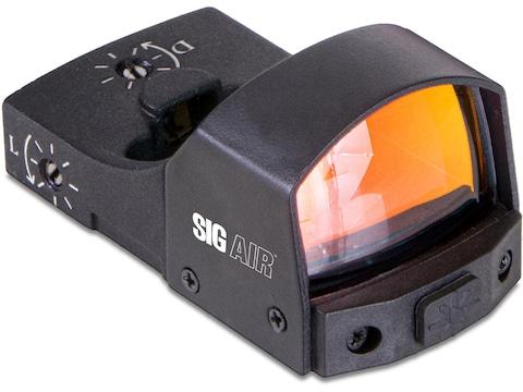 Sig Sauer Air Reflex Red Dot Sight 1x 23mm 3 MOA Dot Reticle