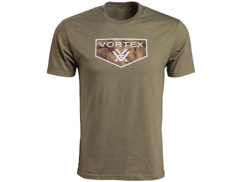 Vortex Optics Men's Topography Short Sleeve T-Shirt Cotton/Poly