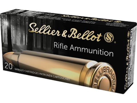 Sellier & Bellot Ammunition 6.8mm Remington SPC 110 Grain Full Metal Jacket