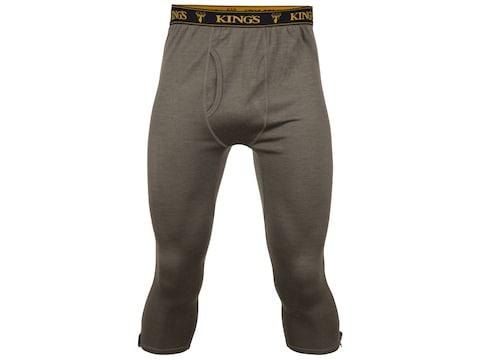 King's Camo Men's XKG Foundation 260 Zip Off Merino Base Layer Pants