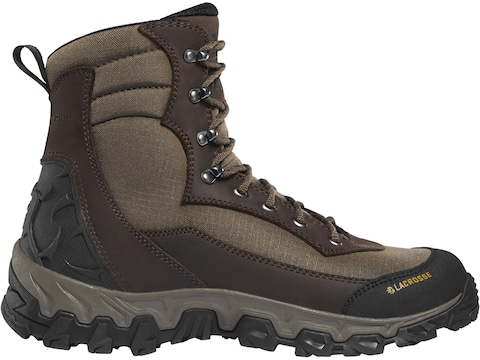 """LaCrosse Lodestar 7"""" Insulated Hunting Boots Nubuck Leather Men's"""