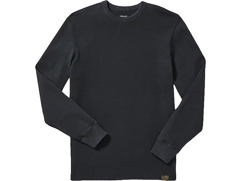 Filson Men's Waffle Knit Thermal Crew Long Sleeve Shirt Cotton