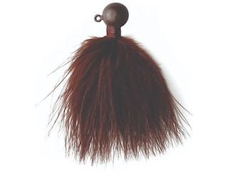 Eagle Claw Marabou Crappie Jig Brown 1/4 oz