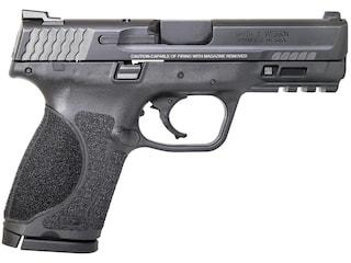 "Smith & Wesson M&P9 M2.0 Compact Pistol 9mm Luger 4"" Barrel 15-Round Black"