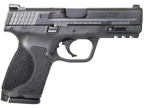 "Smith & Wesson M&P9 M2.0 Compact Pistol 9mm Luger 4"" Barrel 15-Round Black"