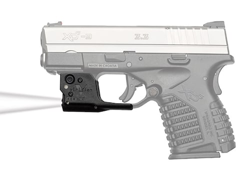 Viridian Reactor TL Weapon Light with 1 CR2 Battery Springfield Armory XDS Polymer Blac...