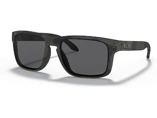 Oakley SI Holbrook Polarized Sunglasses Multicam Black Frame/Gray Lens