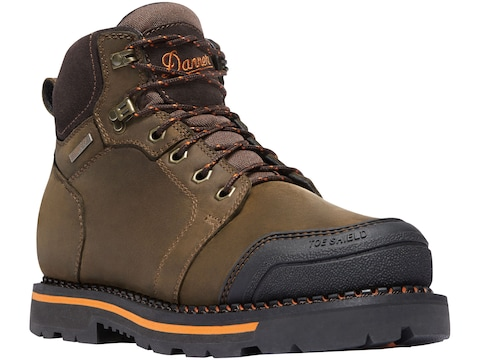 "Danner Trakwelt 6"" Non-Metallic Safety Toe Work Boots Leather Brown Men's"