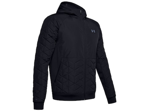 Under Armour Men's UA ColdGear Reactor Performance Hybrid Jacket Nylon