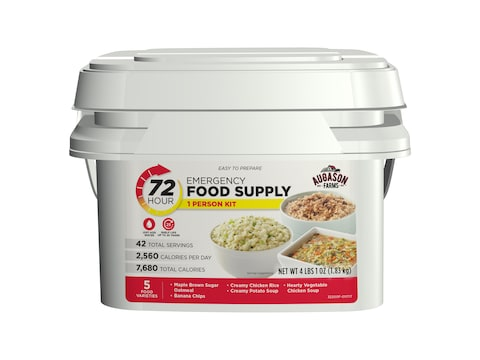 Augason Farms 72-Hour 1-Person Emergency Food Supply Kit 4 lbs