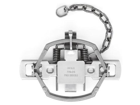 Duke Pro Series 550-OS Trap Steel Silver