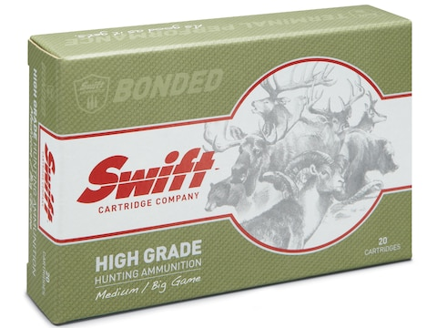 Swift High Grade Big Game Hunting Ammunition 223 Remington 75 Grain Swift Scirocco Box ...