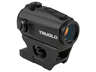 TRUGLO Ignite Red Dot Sight 1x 22mm 2 MOA Dot with Integral Weaver-Style Base Matte