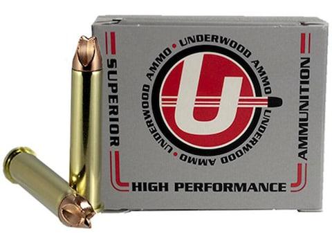 Underwood Xtreme Hunter Ammunition 45-70 Government +P 325 Grain Xtreme Defense Lead-Fr...