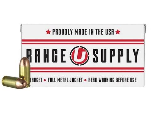 Underwood Range Supply Ammunition 45 ACP 230 Grain Full Metal Jacket Box of 50