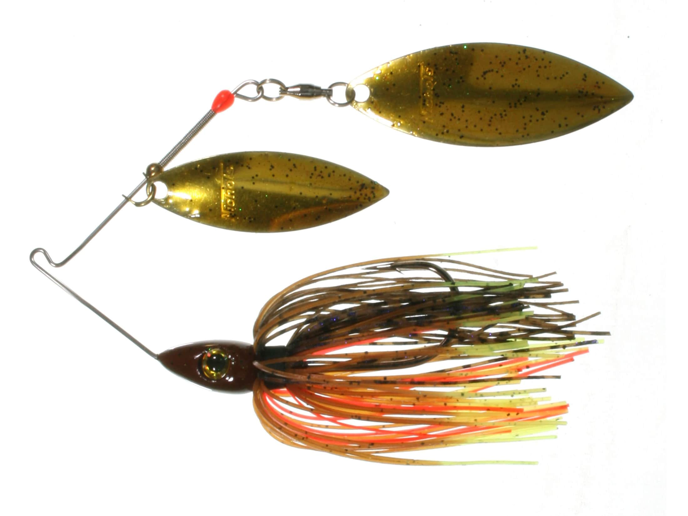 Nichols Lures Pulsator Metal Flake Double Willow Spinnerbait