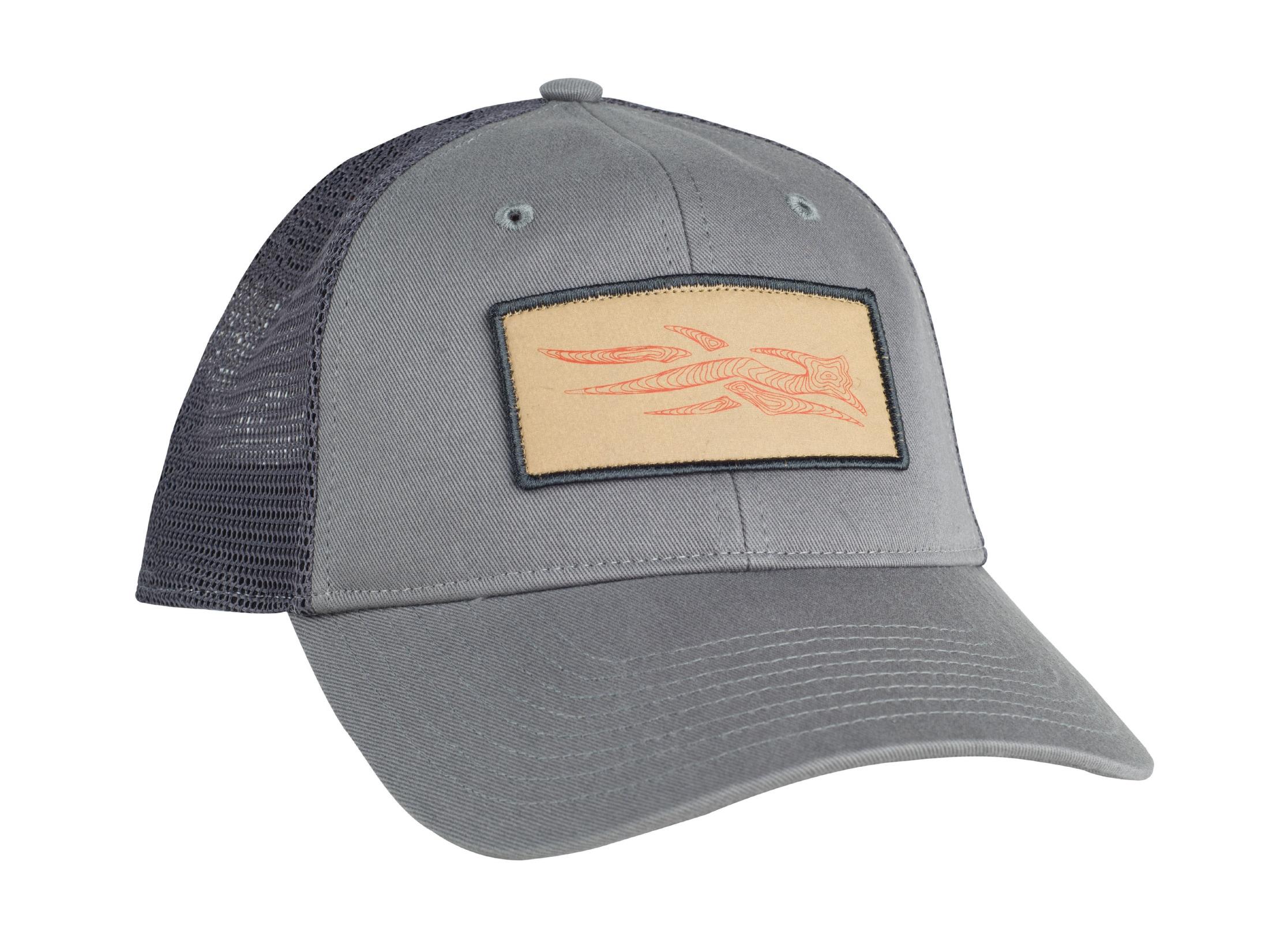 bb27726e7 Sitka Gear Topo Logo Patch Trucker Hat Shadow