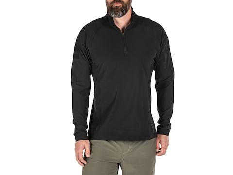 5.11 Men's Contender Long Sleeve 1/4 Zip Shirt Polyester/Elastane