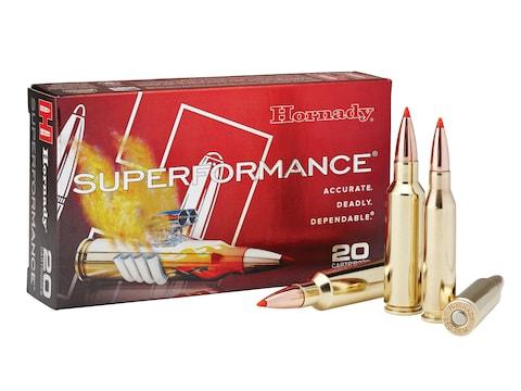 Hornady Superformance Ammunition 6mm Creedmoor 90 Grain GMX Lead-Free Box of 20