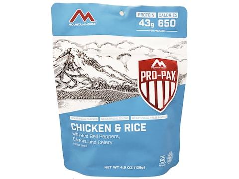 Mountain House Pro Pak Chicken & Rice Gluten Free Freeze Dried Food