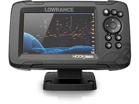 Lowrance HOOK Reveal Fish Finder with TripleShot Transducer US Inland Maps