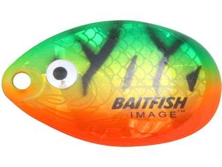 Northland Baitfish-Image Indiana Blade #4 Firetiger 3 pk