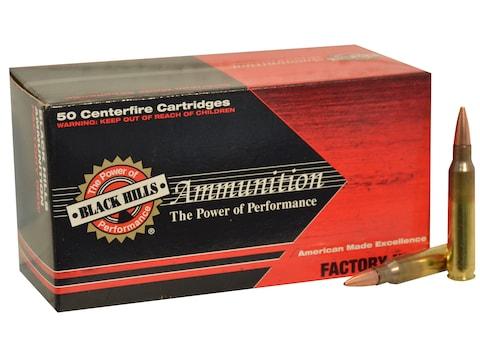 Black Hills Ammunition 5.56x45mm NATO 70 Grain Hornady GMX Hollow Point Boat Tail Lead-...