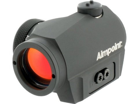 Aimpoint Micro S-1 Red Dot Sight 6 MOA Dot with Adjustable Shotgun Rib Mount Matte