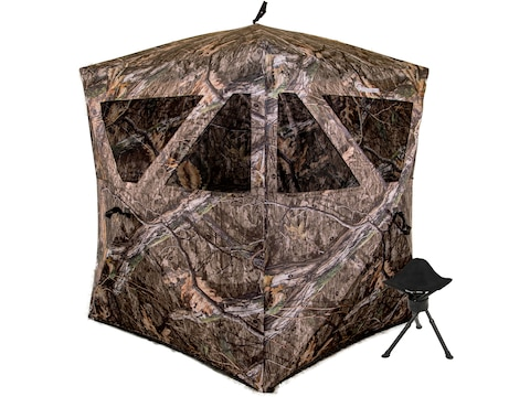 Ameristep Magnum Care Taker Ground Blind with Stool Mossy Oak Break-Up Country