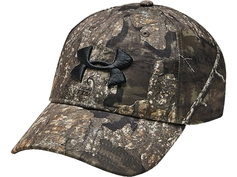 Under Armour Men's UA Camo 2.0 Logo Cap Polyester Realtree Timber One Size Fits Most